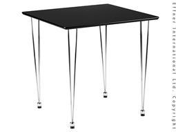 AMB.IENTE Tischplatte 75 x 75 - Schwarz -