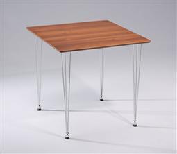 AMB.IENTE Tischplatte 75 x 75 - Nussbaum -
