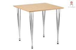 AMB.IENTE Tisch 75 x 75 - Ahorn -