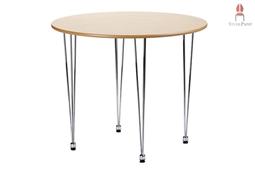 AMB.IENTE Tisch rund - Ahorn -