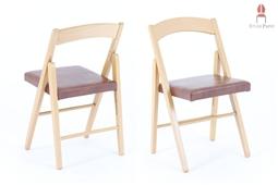 LUK.AS Klappstuhl mit dicker Sitzpolsterung
