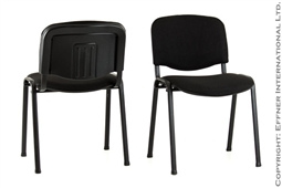 DIN.ISO Stuhl Schwarz/Schwarz