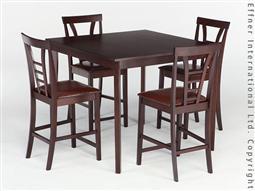 BER.LIN WEST Set Tisch + Stühle