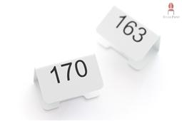 Nummerierung Klemme Groß