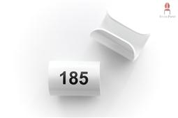 Nummerierung Rund Kurz