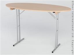 X-TRA Stehtisch Oval - Buche -