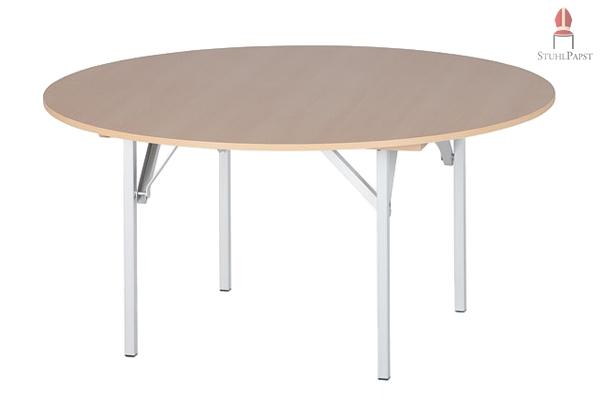 x tra rund 130 cm runde tische klapptische stuehle online direkt ab fabrik versand. Black Bedroom Furniture Sets. Home Design Ideas