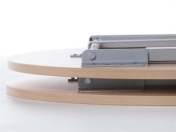 x tra stehtisch rund 80 cm grau runde tische klapptische stuehle online direkt ab. Black Bedroom Furniture Sets. Home Design Ideas